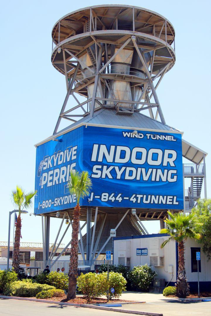 Indoor Skydiving at Skydiving Perris