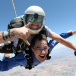 First Time Skydiving over Los Angeles
