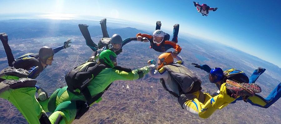 Mark Brown Skydiving