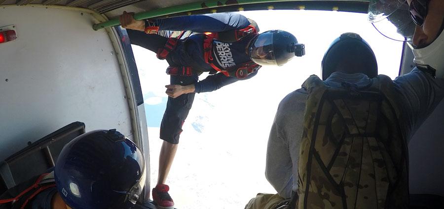 Exit at 12,500 feet