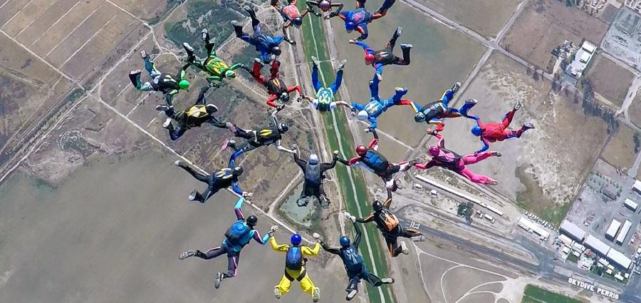 Skydive Perris Landing Area
