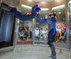 Anyone Can Fly - Indoor Skydiving
