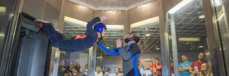 Indoor Skydiving at Perris Valley