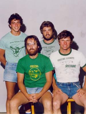 1983 - Dan with Team Greene County Fusion