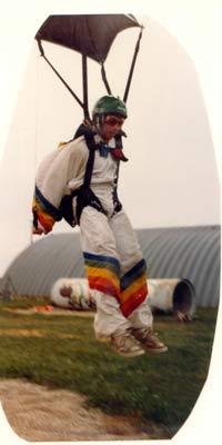 Dan landing in 1981.