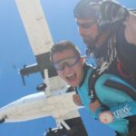jump from skydiving plane