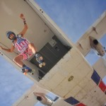 matt blank skydiving with roller skates