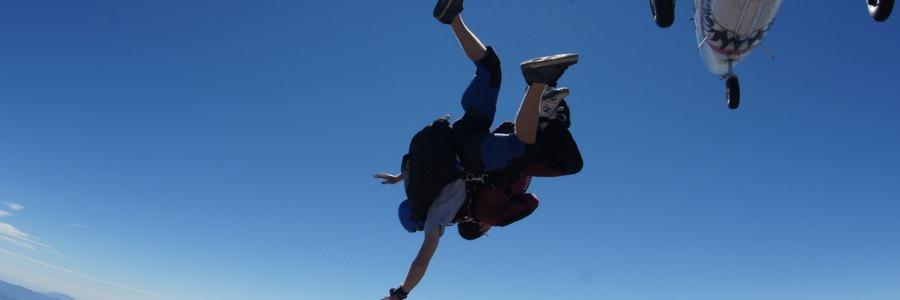 tandem skydiving over los angeles