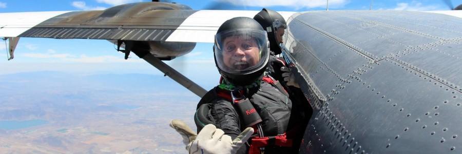 Kate Cooper-Jensen at Skydive Perris