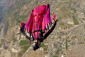 dan dupuis wingsuit flying at Perris