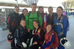 Dan BC load organizing at Skydive Perris