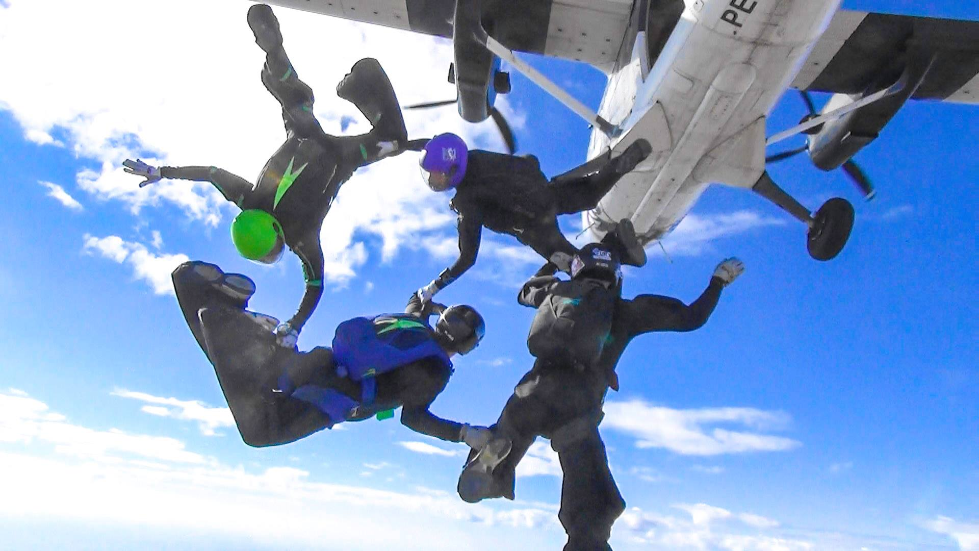 AT SKYDIVE PERRIS, OUR MFS TEAM WEARS A SIZE 9. | Skydive Perris
