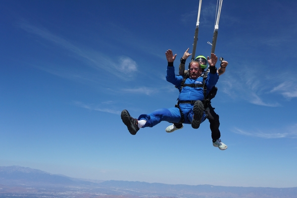 skydiving technology reduces risks of jumping