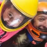 kid indoor skydiving at Perris tunnel