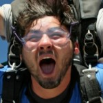 tandem skydiving student experiences 120 mph freefall