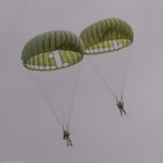 military parachutes