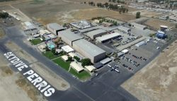 aerial photo of Skydive Perris facilities